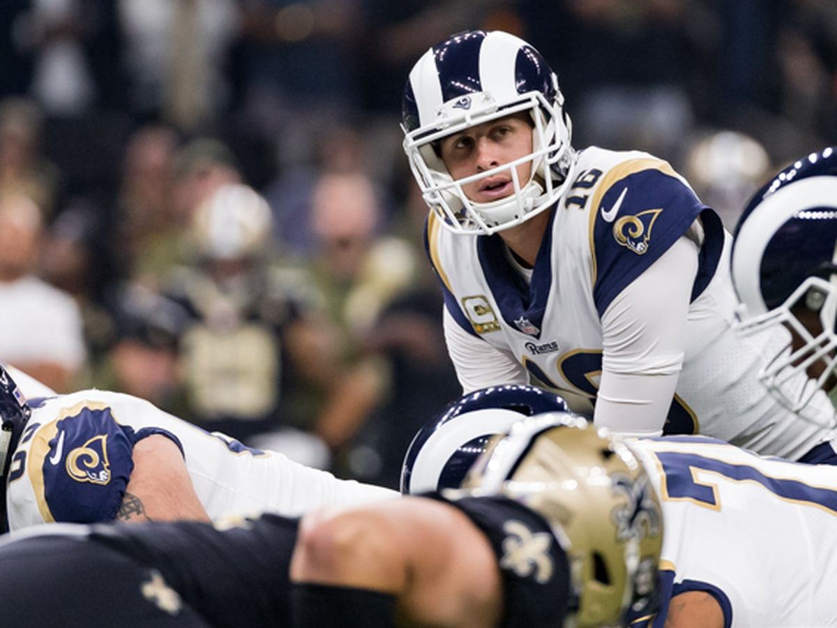 Rams QB Jared Goff holds 'so much respect' for Brees