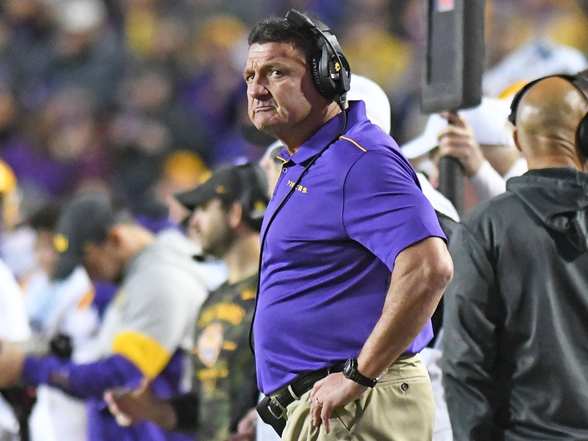 'I do believe we have the best protocols for our players' - LSU head coach Ed Orgeron says players can play