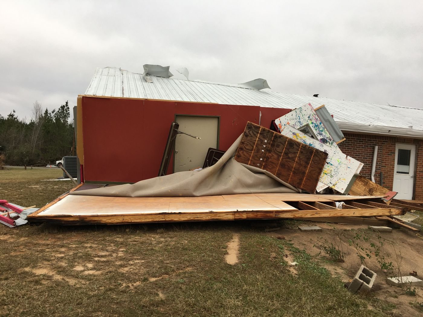 Tornado That Traveled 63 Miles Devastates Baptist Church
