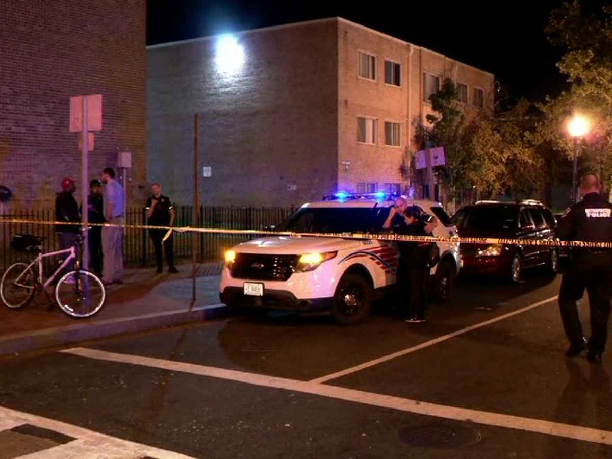 1 dead, 8 injured in pair of Washington DC shootings