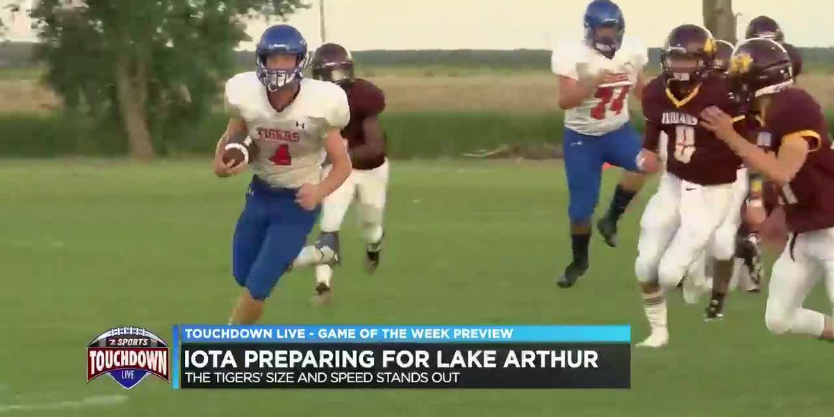 Iota preparing for Lake Arthur's size and speed
