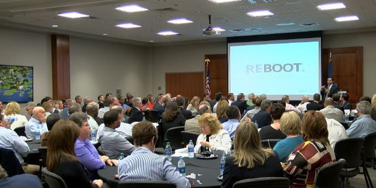 Area business leaders meet, discuss constitutional convention