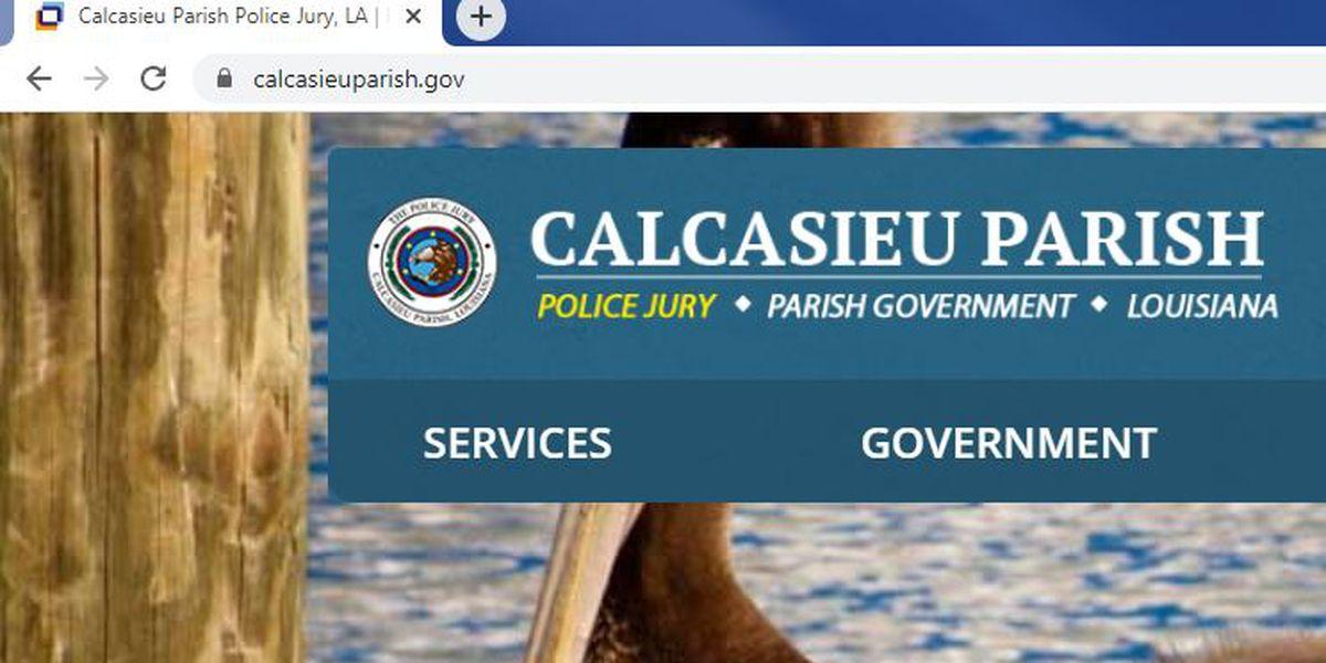 Calcasieu Police Jury changing website domain name