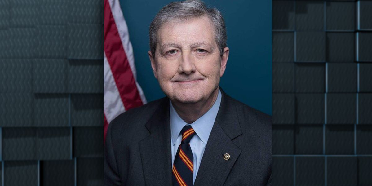 WATCH: Interview with Sen. John Kennedy on Presidential Visit