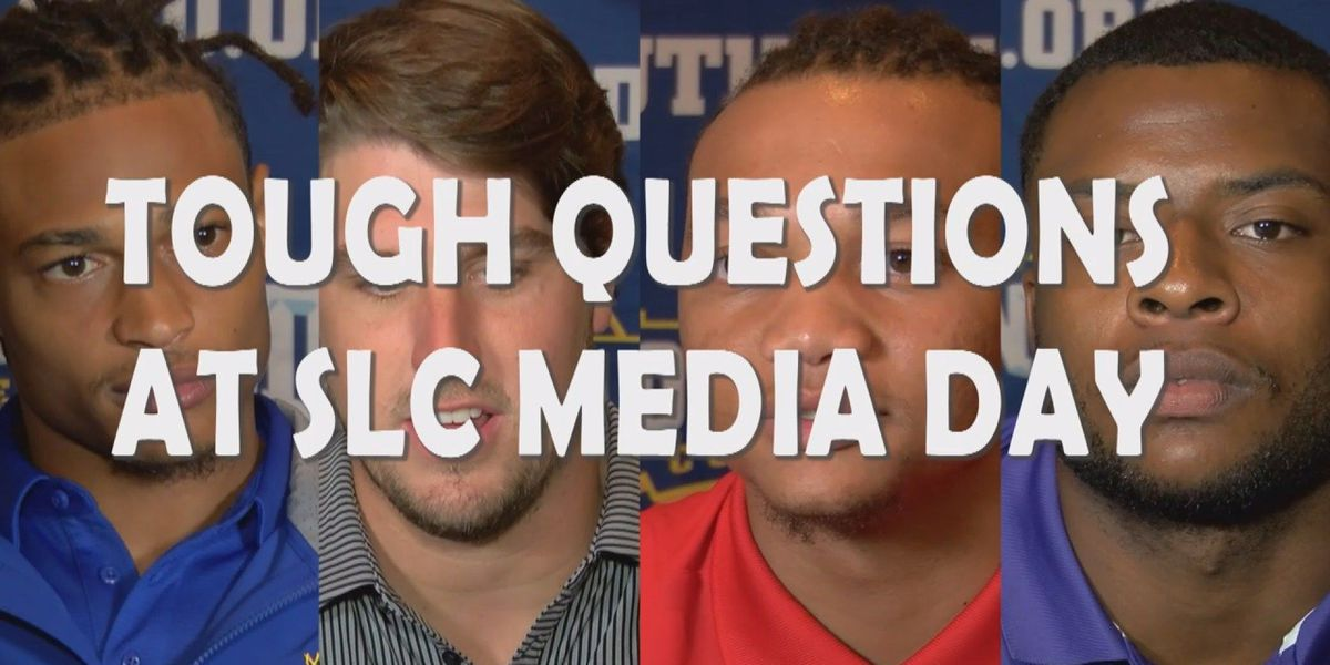 "McNeese, Southland players and coaches answered the ""tough"" questions at media day"