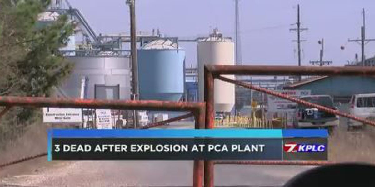 Three killed in explosion at PCA mill in Beauregard