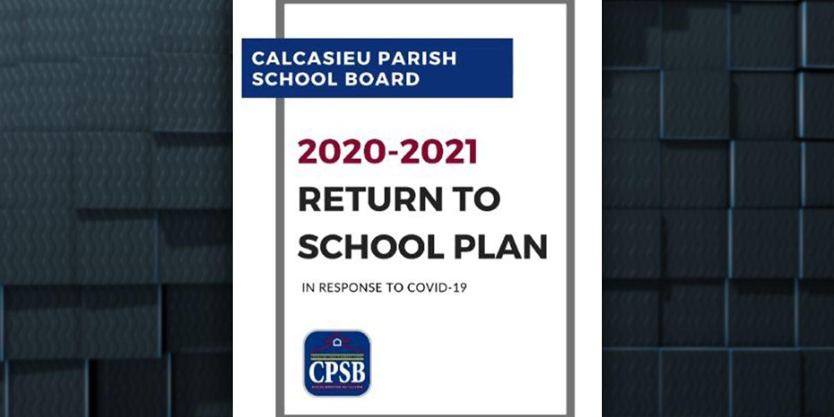 Calcasieu School Board releases Return to School Plan