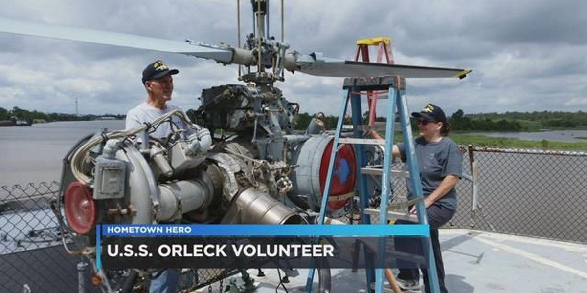 Navy vet dedicated to restoring USS Orleck Naval Museum