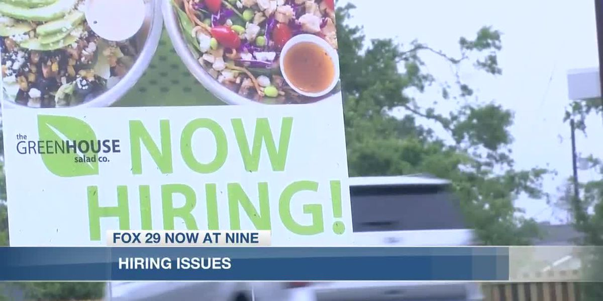 Lake Area businesses struggle with hiring employees
