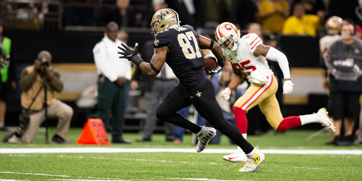 Saints tight end Jared Cook motivated for 2020 season