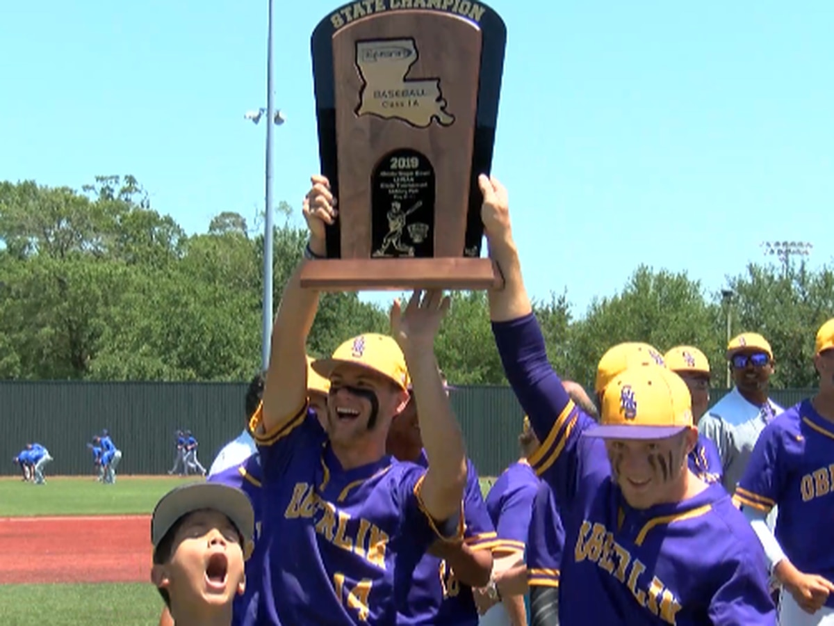 Oberlin wins first-ever 1A state title behind Kellon McCleon's complete game