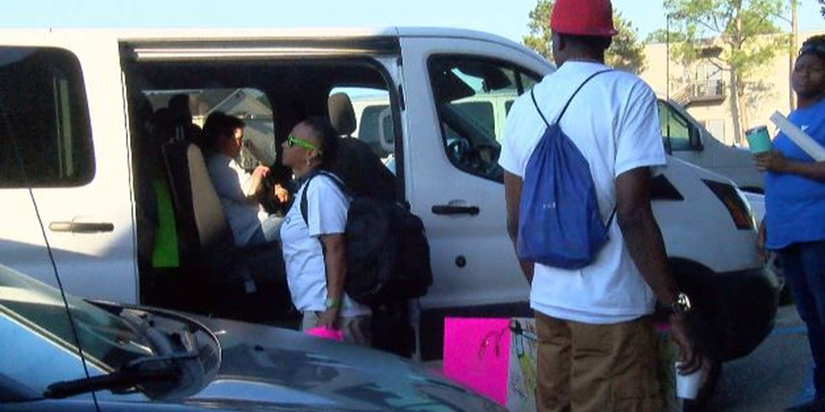 VOA clients and staff make road trip for Behavioral Health Awareness Day