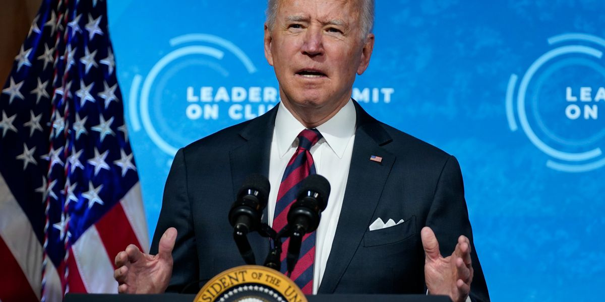 LIVE: Biden delivers remarks during global climate summit session