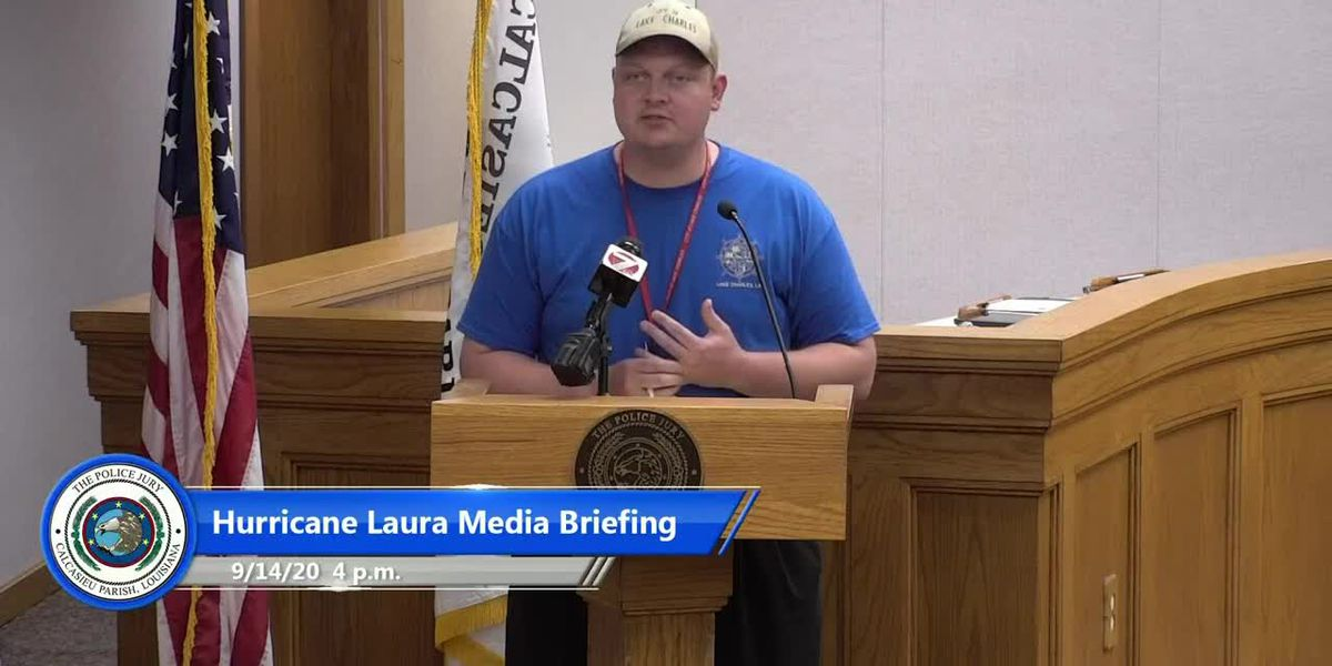 City of Lake Charles updates on Hurricane Laura recovery - Sept. 14