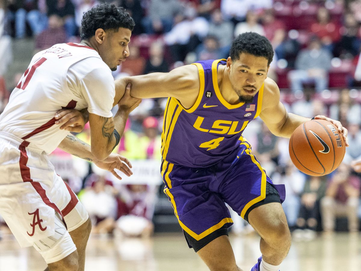 No. 25 LSU falls to Alabama in Tuscaloosa