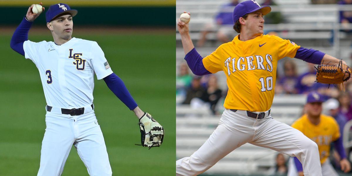 LSU baseball's Hal Hughes, Eric Walker transfer to other universities