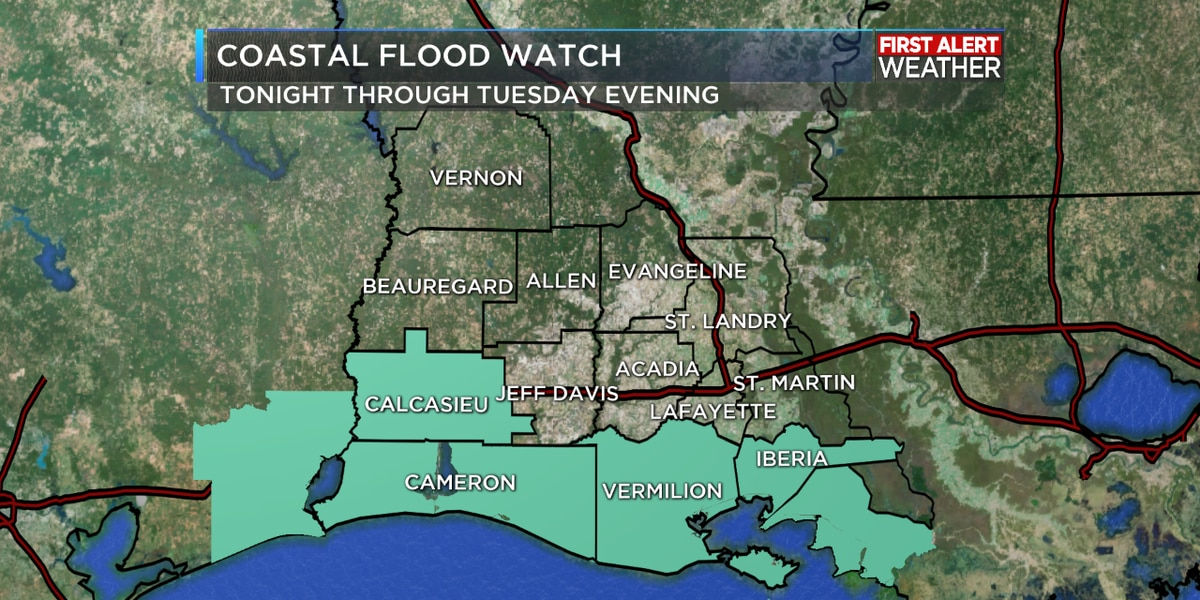FIRST ALERT FORECAST: Much quieter pattern ahead gives rivers chance to recede a bit
