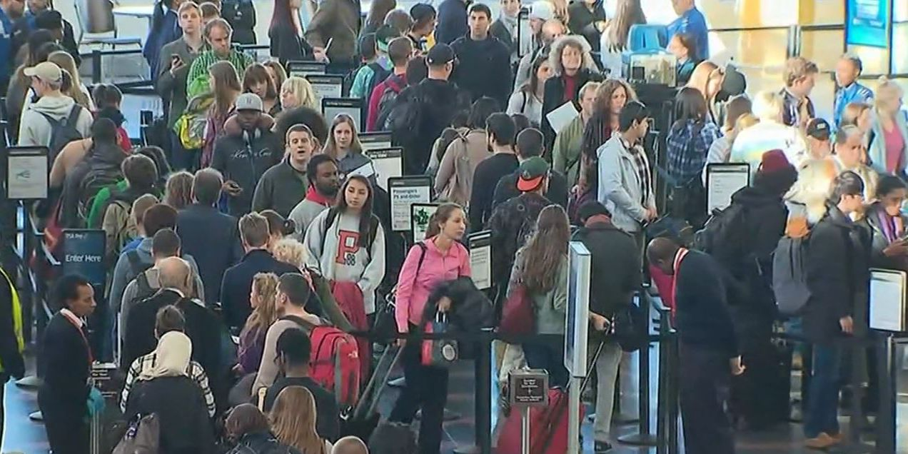 Thanksgiving air travel to be busiest ever, TSA says
