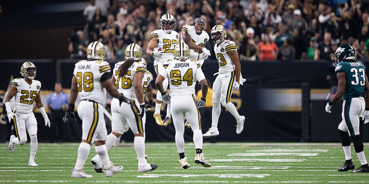 Saints and Eagles meet again, playoff edition