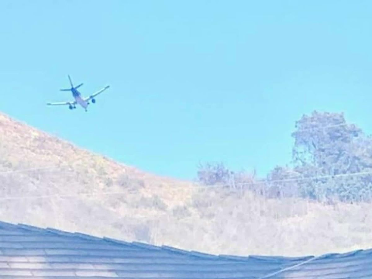 Waste from plane falls on home in Calif.