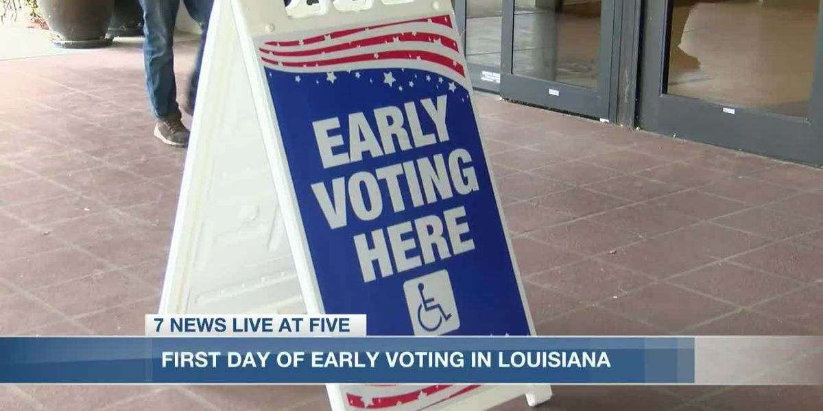 Thousands of SWLA residents vote on first day of early voting