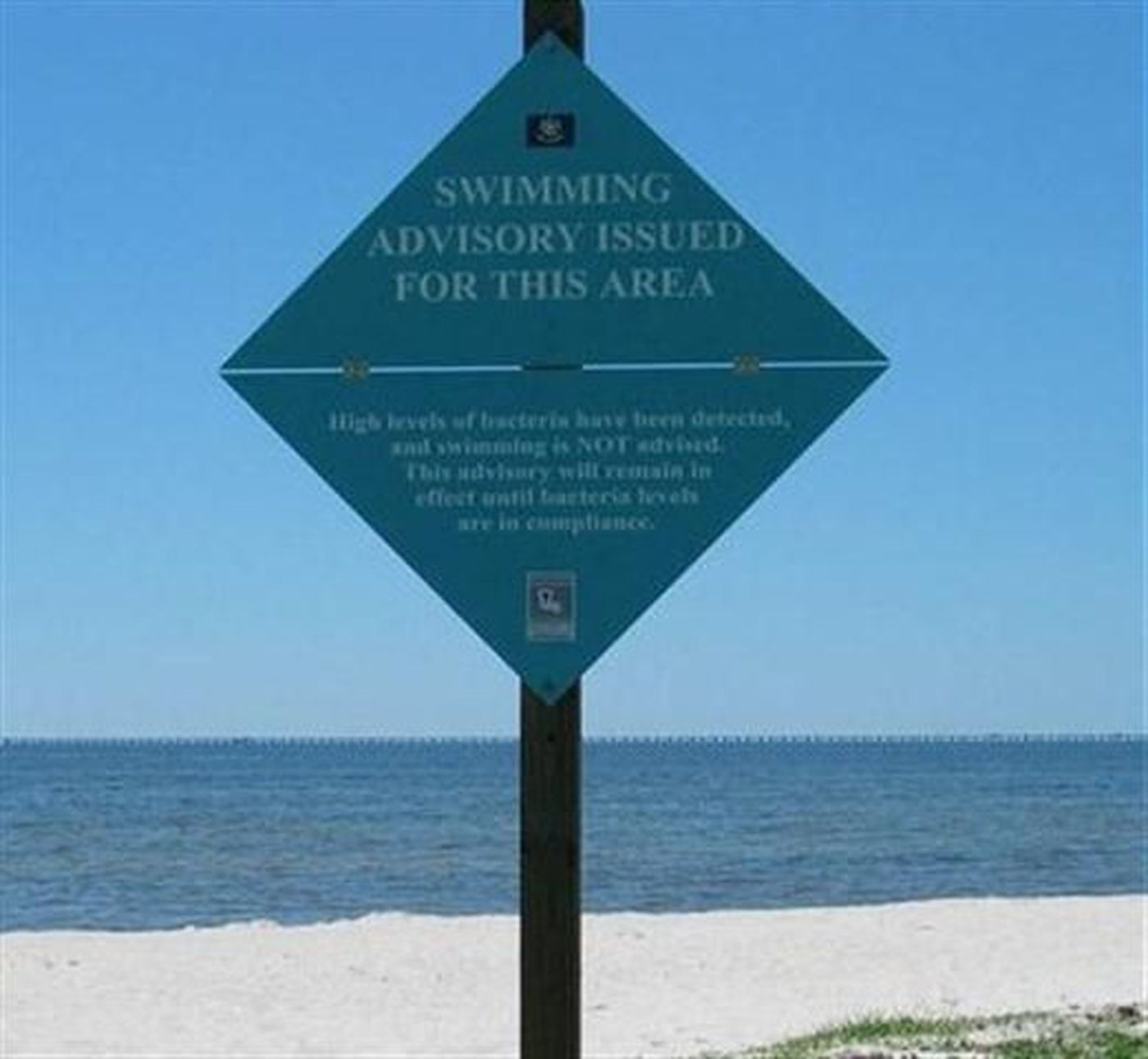 check for louisiana beach health advisories