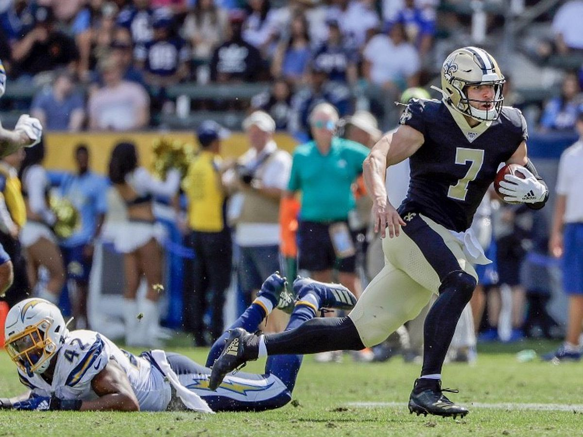 Taysom Hill racks up 189 total yards in Saints' victory