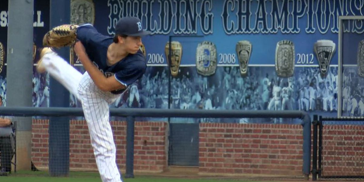 Barbe sophomore pitcher Adam Guth throws perfect game
