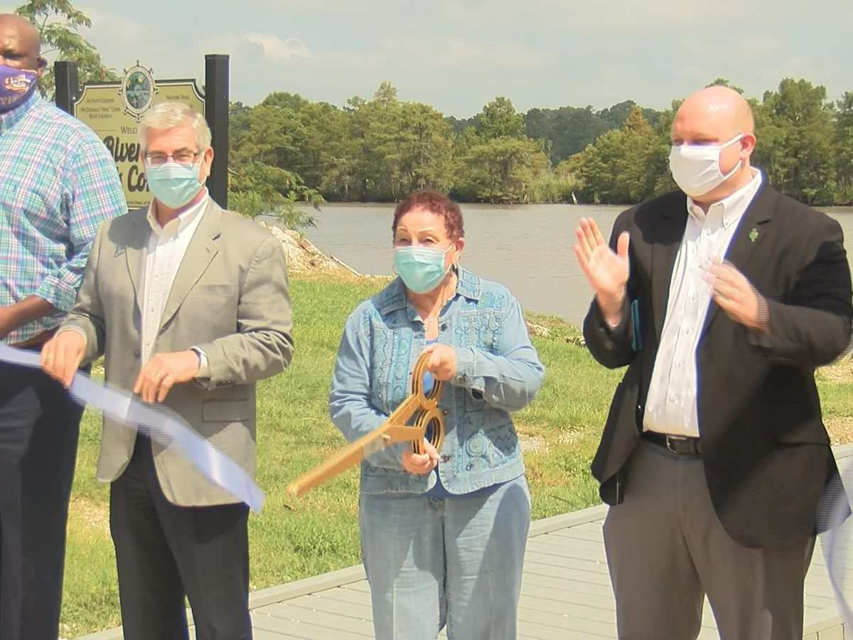 Ribbon-cutting ceremony celebrates completion of Riverside Boat Launch