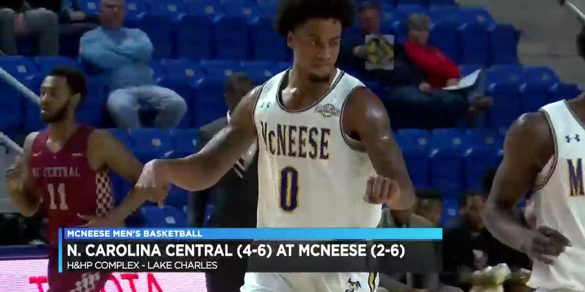 McNeese rallies past NCCU, picks up first non-conference D1 win since 2016