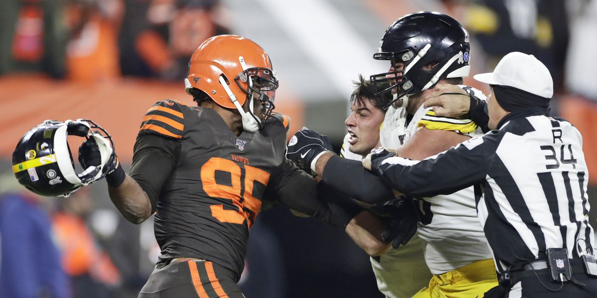 Steelers QB Rudolph fined $50,000 for brawl with Browns