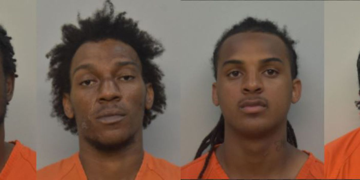 Four accused of home invasion, rape at gunpoint in South Lake Charles