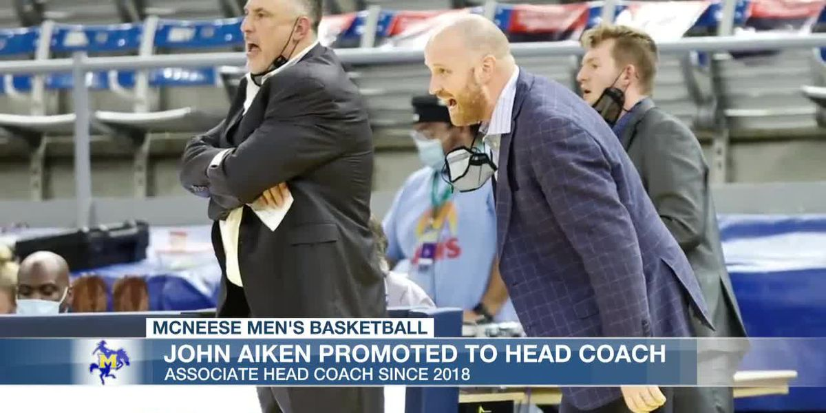 McNeese's Heath Schroyer steps down as basketball coach to be full-time AD; John Aiken promoted to head coach