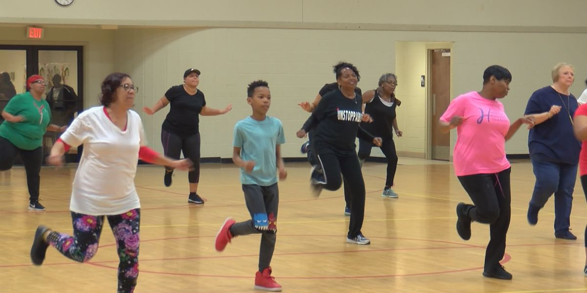 Community members shake to the beat of zydeco
