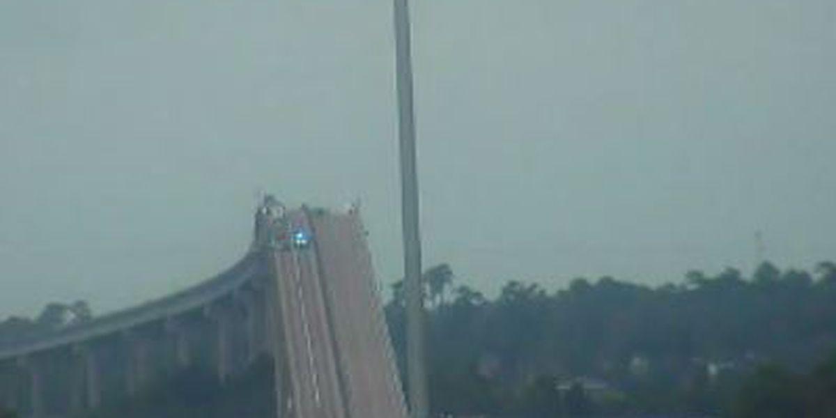 210 bridge, I-10 WB near Lacassine now open