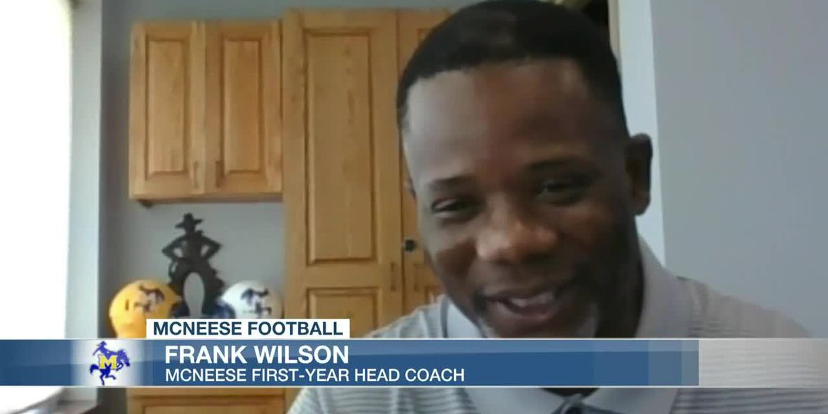 McNeese coach Frank Wilson happy to get one fall practice done