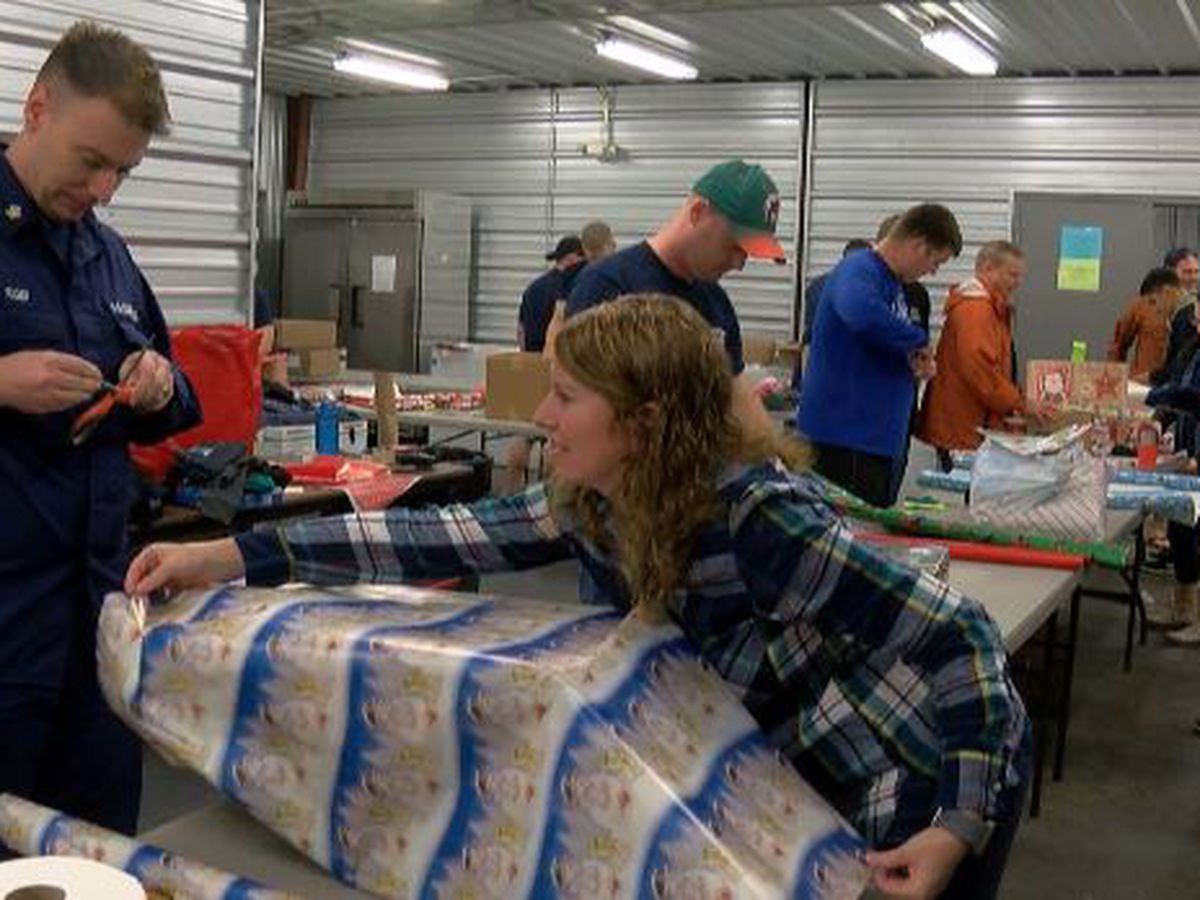 Coast Guard & Catholic Charities collaborate for needy; help also needed throughout the year