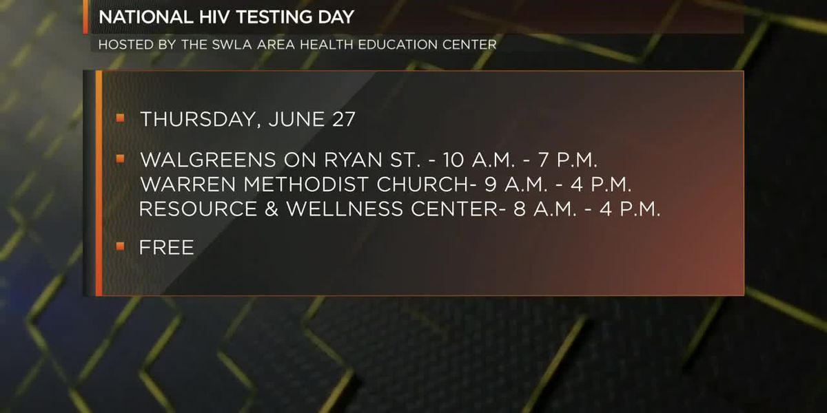 Free HIV Testing for National HIV Testing Day