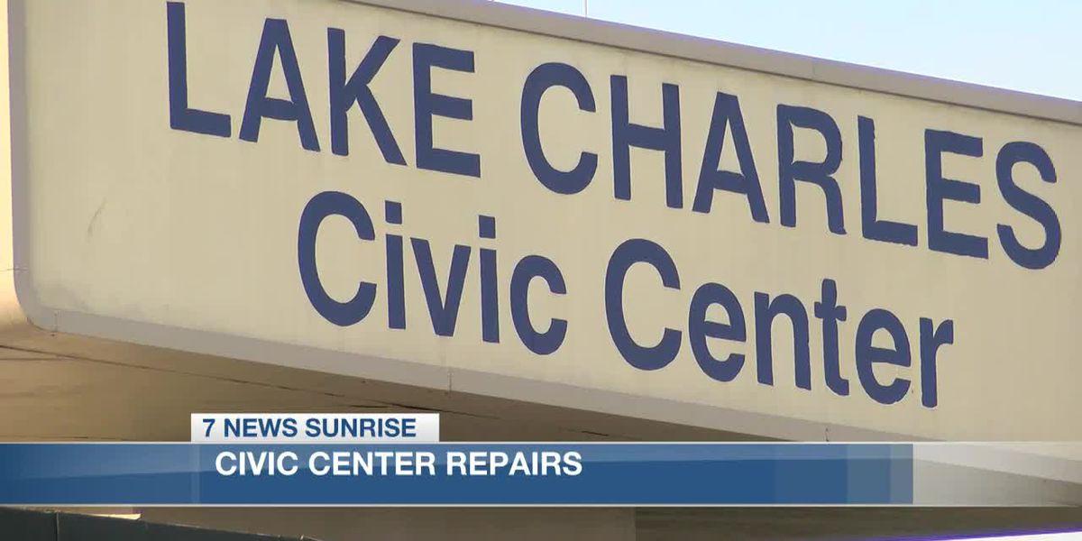 Repairs underway for Civic Center