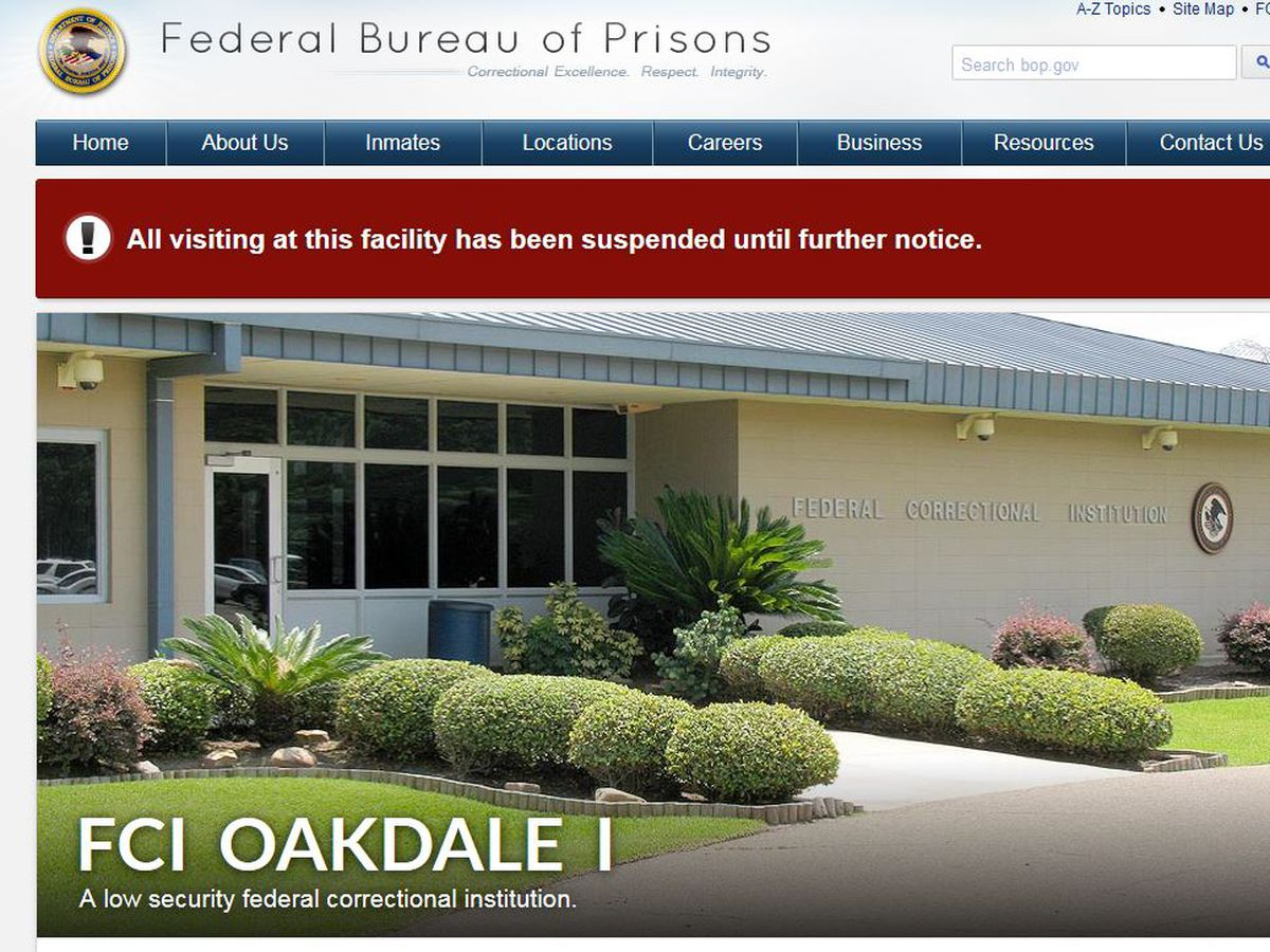 Union president says Oakdale prison employees struggling to work in COVID-19 environment