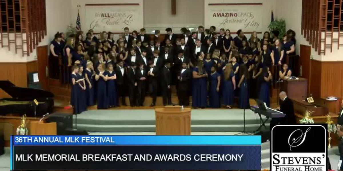 WATCH: MLK Memorial Breakfast and Awards program