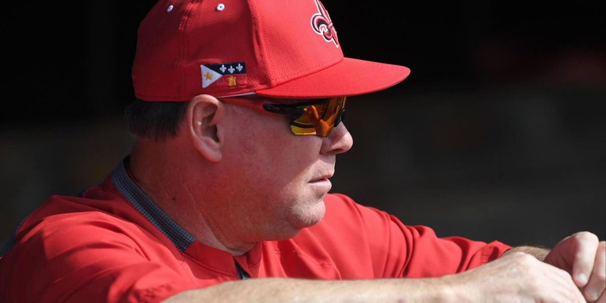 UL Lafayette head baseball coach Tony Robichaux dies at 57