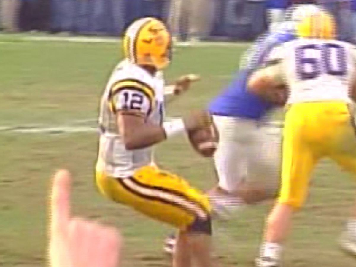 'It keeps me young' - Randall's miracle throw still one of LSU's most amazing moments
