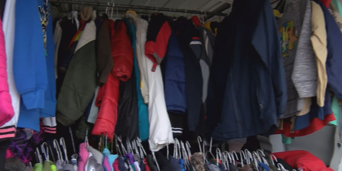 L.C. Kiwanis Club collects more than 1,000 coats through Coats for Kids campaign