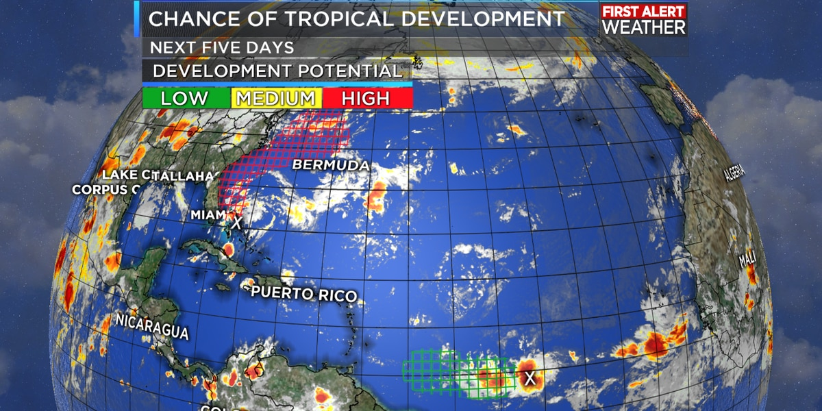 TROPICAL UPDATE: The Atlantic shows signs of life after an unusually quiet start to August