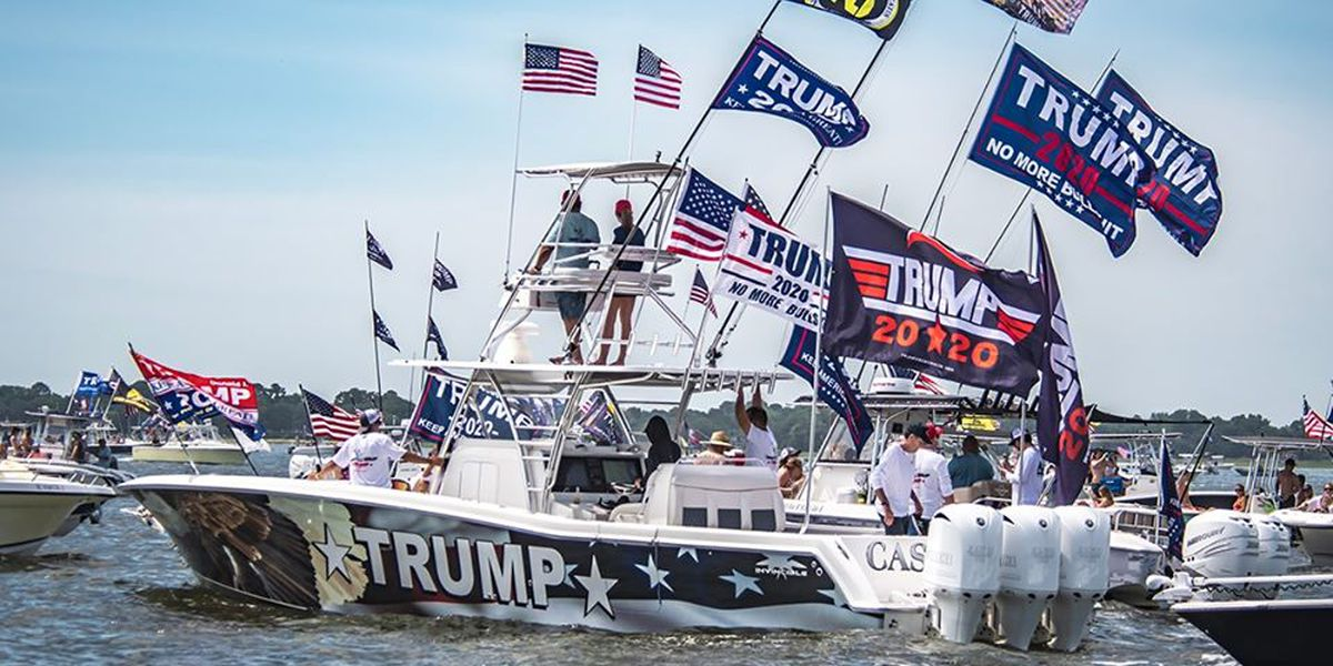 Weekend Pres. Trump boat parade in SWLA