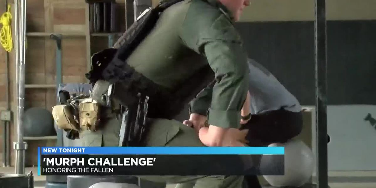 LCPD SWAT participates in 'Murph Challenge' to honor fallen soldiers