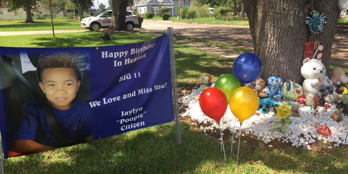 One year anniversary of shooting death of 10-year-old Jaylyn Citizen