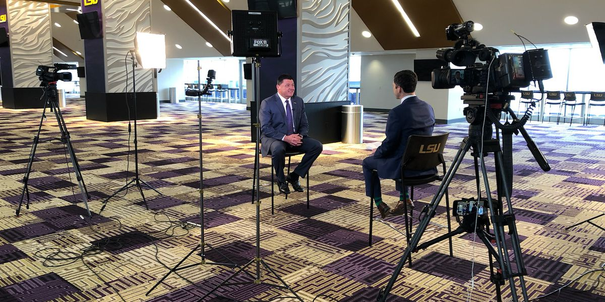 Orgeron on recruiting in 1-1 interview: 'My job is to get every player in the state if we can'