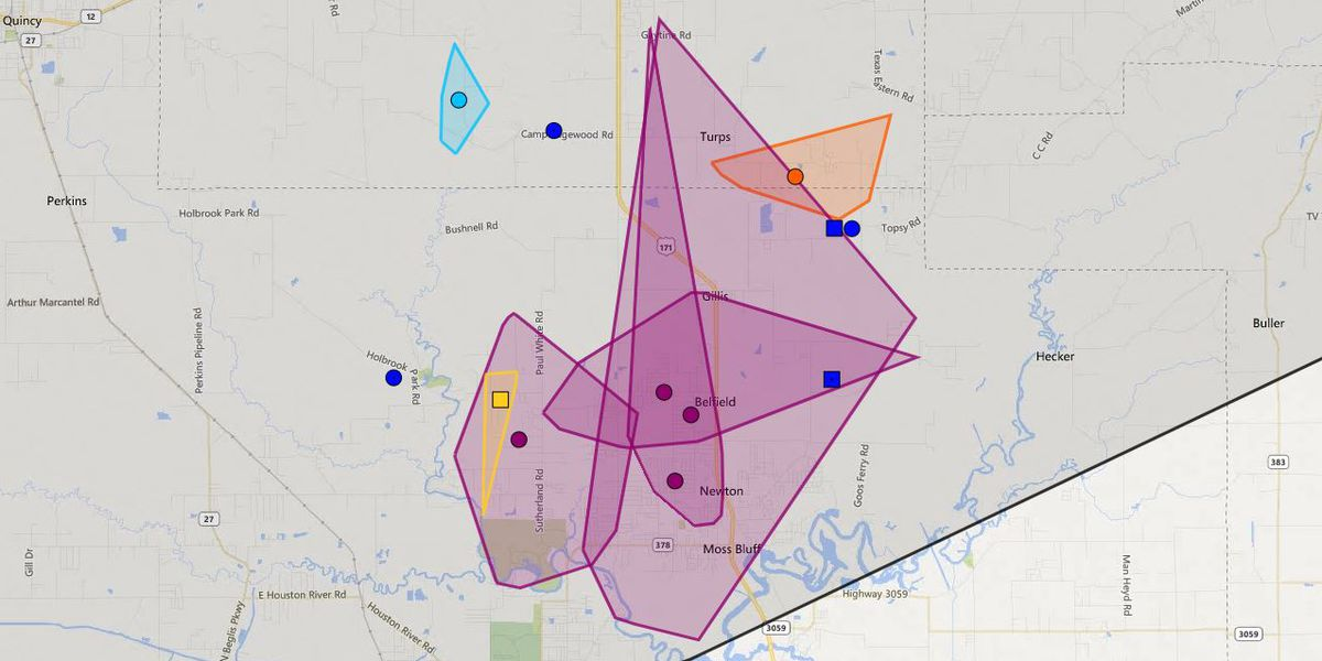 Power restored to BECi customers in Moss Bluff, Gillis area